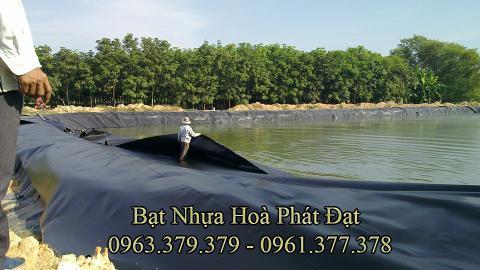 Đơn vị thi công lót bạt ao hồ nuôi tôm cá HDPE tại BẮC GIANG chuyên nghiệp