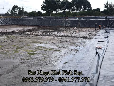 Đơn vị thi công lót bạt ao hồ nuôi tôm cá HDPE tại Bình thuận chuyên nghiệp